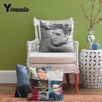 Yinuoda 2017 Hot Sale Pillowcase Elvis Presley Custom Zippered Cushion Cover Case 18x18 Inch Sofa Seat