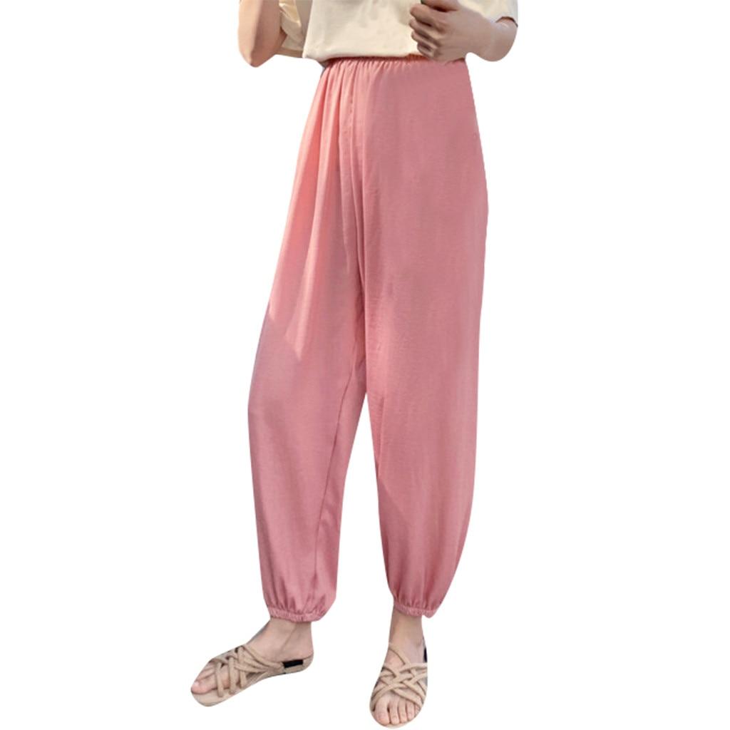 QoerliN Vintage Corduroy   Pants     Wide     Leg   Velvet Winter Warm Trouser Full Length Zipper Button Pink Fashion Autumn   Pants   Plus Size