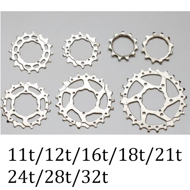 Bicycle Cassette Sprocket Cog for Brompton re-equip 2 speeds 3 speeds 11T 12T 14T 16T 18T 21T 24T 28T 32T Aluminium