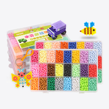 6000pcs DIY Magic beads Animal Molds Hand Making 3D Puzzle Kids Educational Beads Toys for Children Spell Replenish