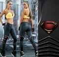 2017 nuevas Mujeres Atractivas Leggings Para Los Corredores de Entrenamiento de Fitness legging alta cintura Elástico leggins Gimnasio workout Jegging leggings