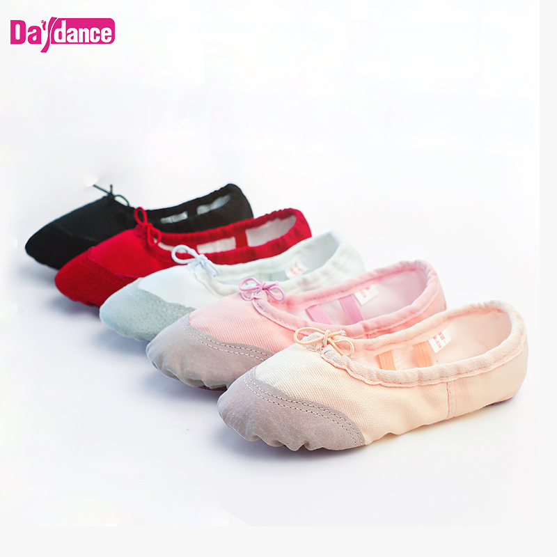 Women Ballet Slippers Soft Ballet Shoes Girls Kids Ballerina Practice Dance Shoes Canvas Обувь