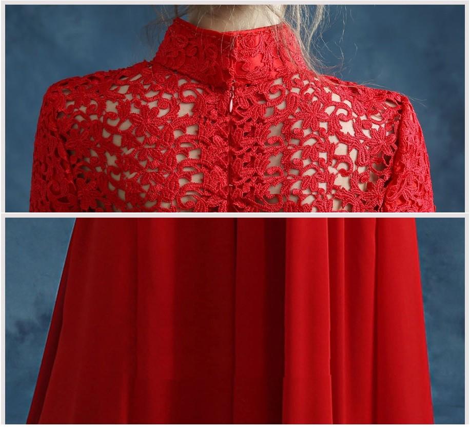 ... long sleeve lace chiffon xxxl long chinese dresses fashion cheongsam  wedding elegant evening dresses beautiful chinese ... 5a3f167f8c99