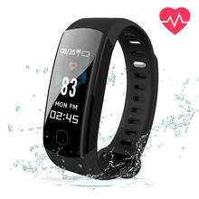USB Blood Pressure Smart Bracelet Color Screen Smart Wristband 24H Heart Rate Pedometer with iOS Android APP 2018 New Hi-tench