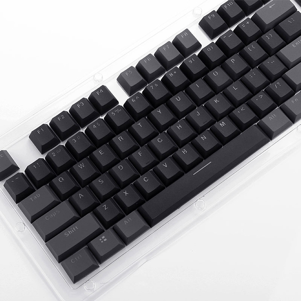 2019 new Translucent Double Shot PBT <font><b>104</b></font> <font><b>KeyCaps</b></font> Backlit for Cherry MX Keyboard Switch #56 image