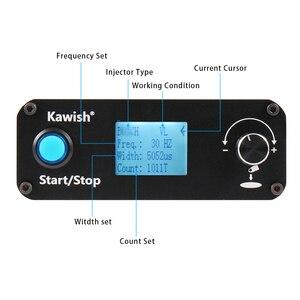 Image 3 - Ücretsiz kargo ve büyük satış! Kw608 çok fonksiyonlu dizel sabit basınçlı püskürtme enjektörü test Piezo enjektör test cihazı Usb enjektör test cihazı