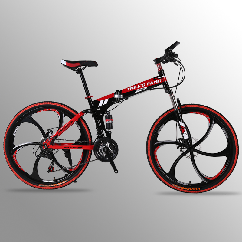 Mountain Bike 24 speed 26inch Folding bike road bike Double disc brakes folding mountain bikes student bicycle bicicleta майка классическая printio keep your friends close but your enemies closer