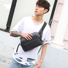 hot deal buy chest bag shoulder slung multi-function male bag outdoor sports men and women students waterproof waist large capacity