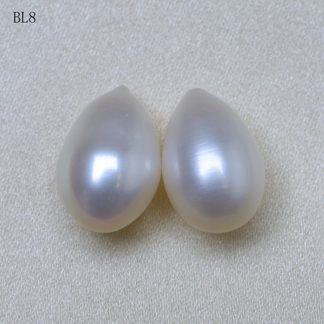 BaroqueOnly Natural FreshwateR Pearls, baroque WHITE Naked