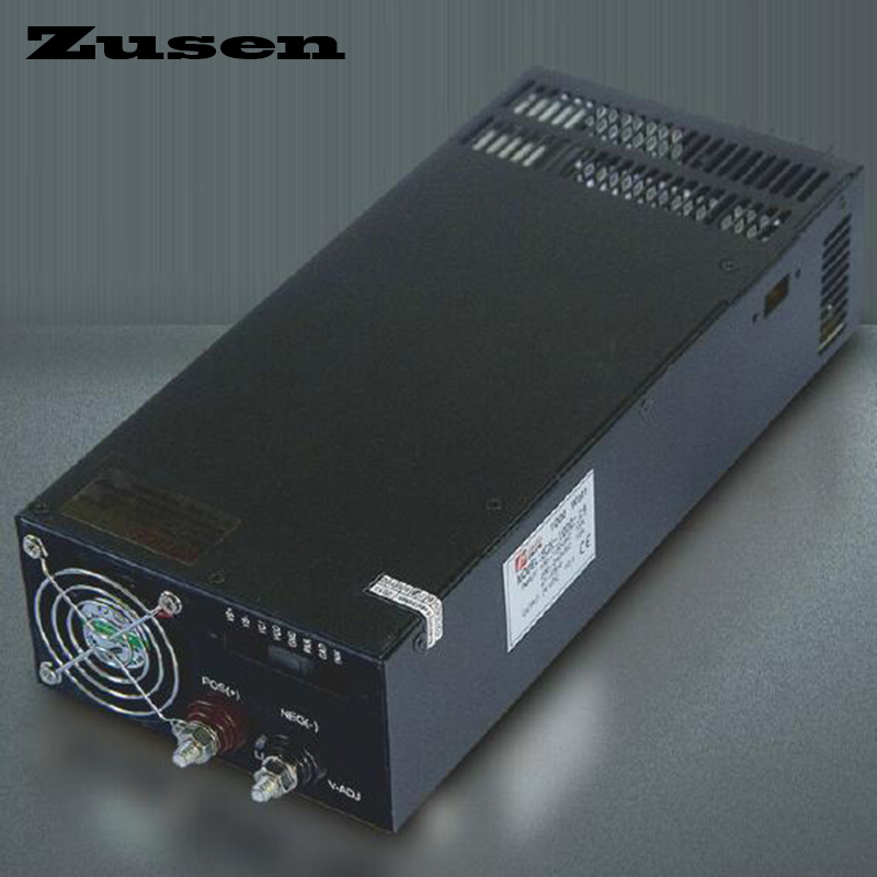 Zusen Single output S 1000W 12V 13 5V 15V 24V 36V 48V nice work Switching Power