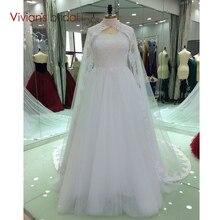Vestidos De Formature V Neck Appliqued Lace Floor Length Prom Dresses with Cape Bridal Formal Evening Gown