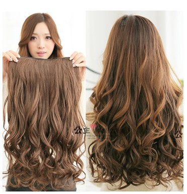 Free shipping Synthetic hair extension,clip in hair ...