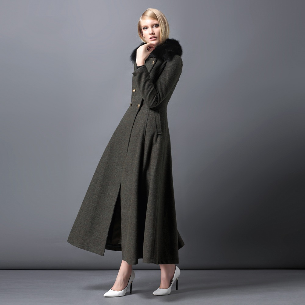 Aliexpress.com : Buy Twods 2015 new fashion capes maxi wool coat