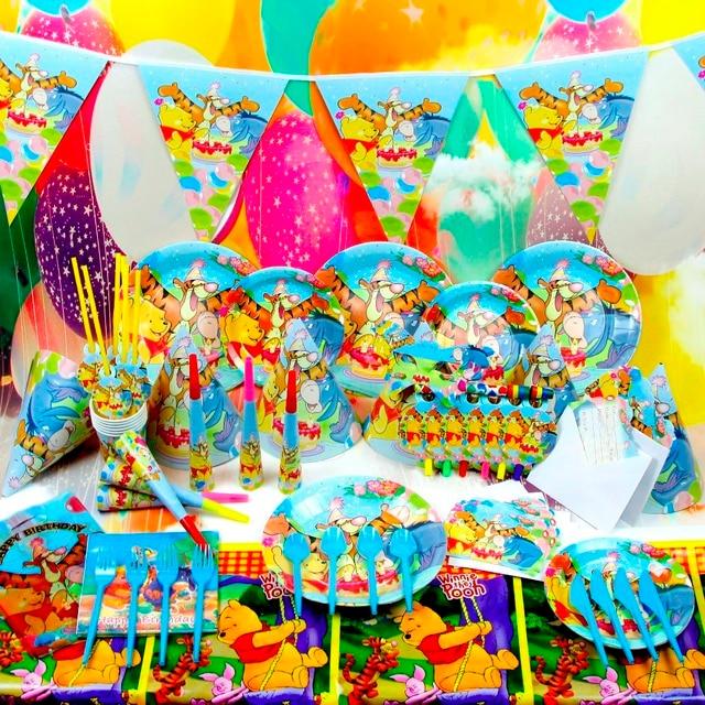 116 teile/satz New Kids Birthday Party Dekoration Geburtstag winnie ...