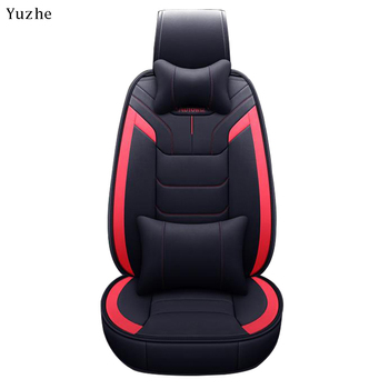 Yuzhe leather car seat cover For peugeot 206 407 508 308 301 3008 2017 205 106 307 207 406 car accessories seat covers