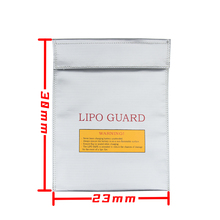 230x300x6mm 2pcs 2016 New RC LiPo Li Po Battery Fireproof Safety Guard Safe Storage Bag Charge