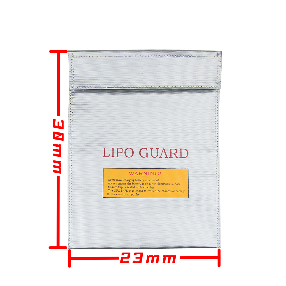 230x300x6mm 2pcs 2016 New font b RC b font LiPo Li Po Battery Fireproof Safety Guard