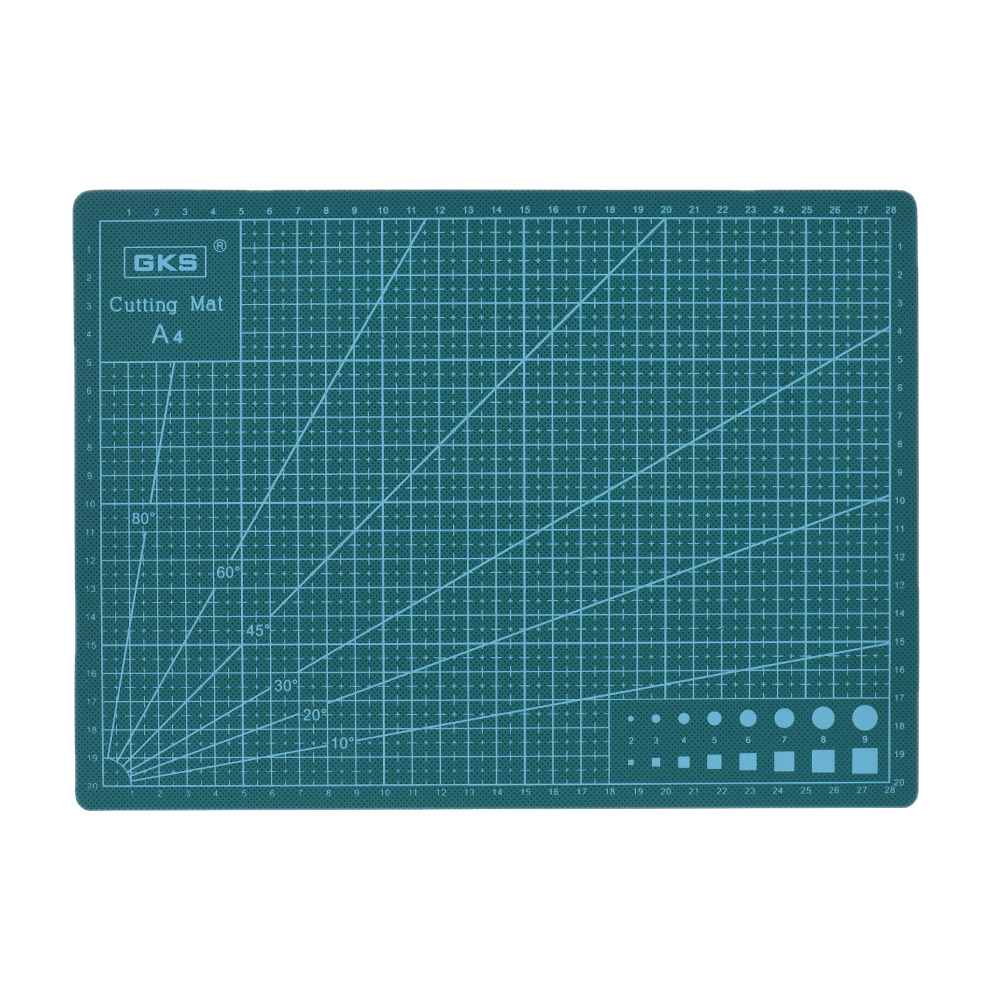 PVC Cutting Mat Cutting Pad Patchwork Cut Pad Size A2 A3 A4 3mm Wallthickness Patchwork Tools Manual DIY Tool Cutting Board top quality pvc rectangle self healing cutting mat tool non slip craft quilting printed professional double sided cutting mat