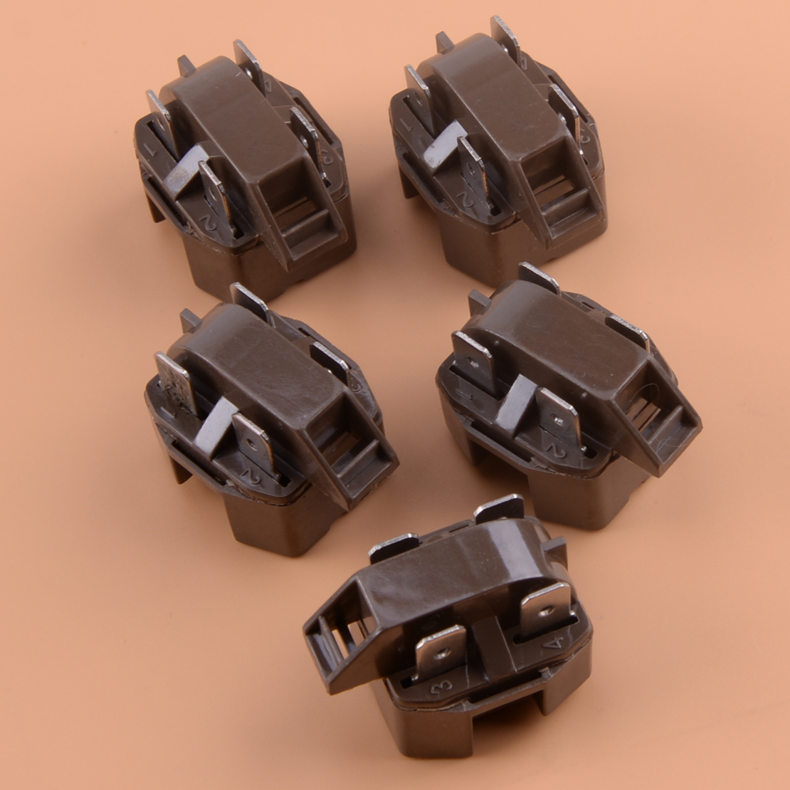 5pcs 4 Pin PTC Start Relay IC-4 Fit For Refrigerator Freezer Compressor Appliance Parts 2262185