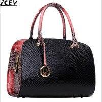 Luxury High Quality Women S Leather Bag Ladies Serpentine Bag Female Crossbody Handbag Boston Bags Bolsos