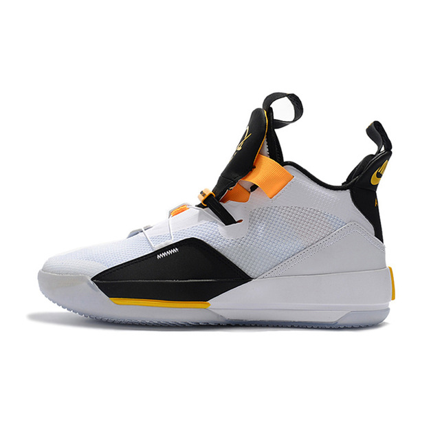 new arrivals 8c17a 40c62 air us Jordan 33 Man Basketball Shoes Katrina Charity Game Pure Black  Cement White Seoul Outdoor