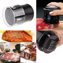 Práctica profesional ablandador de carne Ablandador de Carne con 56 Cuchillas de Acero Inoxidable Home Herramienta de la Cocina utensilios de cocina