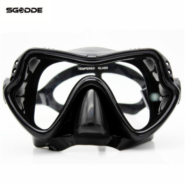 e0786ef754a8 Water Sports Adult Scuba Snorkel Diving Mask Swimming Goggles Underwater  Scuba Snorkeling For Diving