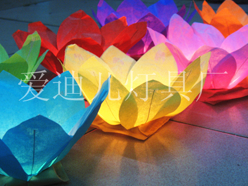 China paper crafts water lantern lotus flower floating lanterns for china paper crafts water lantern lotus flower floating lanterns for birthday and wedding decoration and gifts mightylinksfo