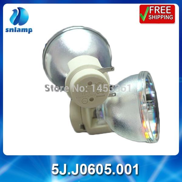 ФОТО 100% Original osram bare projector mercury lamp 5J.J0605.001 for MP780ST