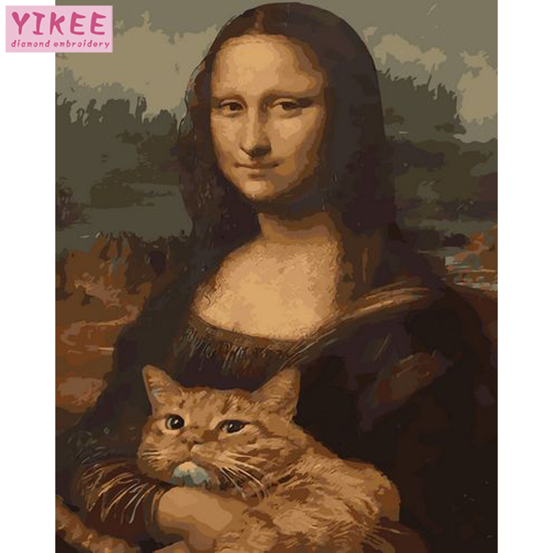 Painting By Numbers,drawing By Numbers For Adults,paint By Number Mona Lisa