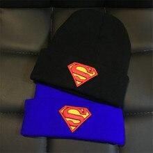 Аниме Супермен косплэй действие комиксов любителей Бейсбол кепки зимние уличные лыжные маска для уличного танца Skullies Toucas GorrosHat