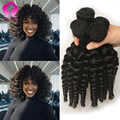 Brazilian Kinky Curly Hair Weave Bundles Brazilian Virgin Human Hair Extensions Tissage Bresilienne Short Curly Weave 10 12 Inch