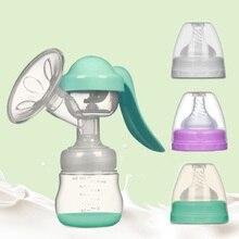 Painless Manual Breast Pump Environmentally Friendly Mute Breast Feeding Milk Pump