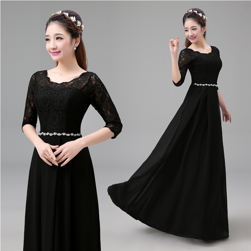 Black Dinner Dress Promotion-Shop for Promotional Black Dinner ...