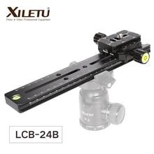 XILETU LCB 24B إطالة الإفراج السريع لوحة عدة 240 مللي متر العقدي الشريحة ترايبود السكك الحديدية متعددة الوظائف العالمي المسار دوللي المنزلق
