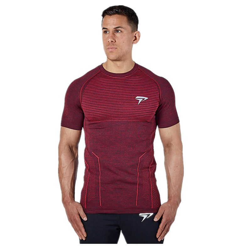 Summer 2019 Men Gyms Fitness Short sleeved Quick drying breathable t shirt men Casual Bodybuilding Joggers Tee Tops streetwear in T Shirts from Men 39 s Clothing