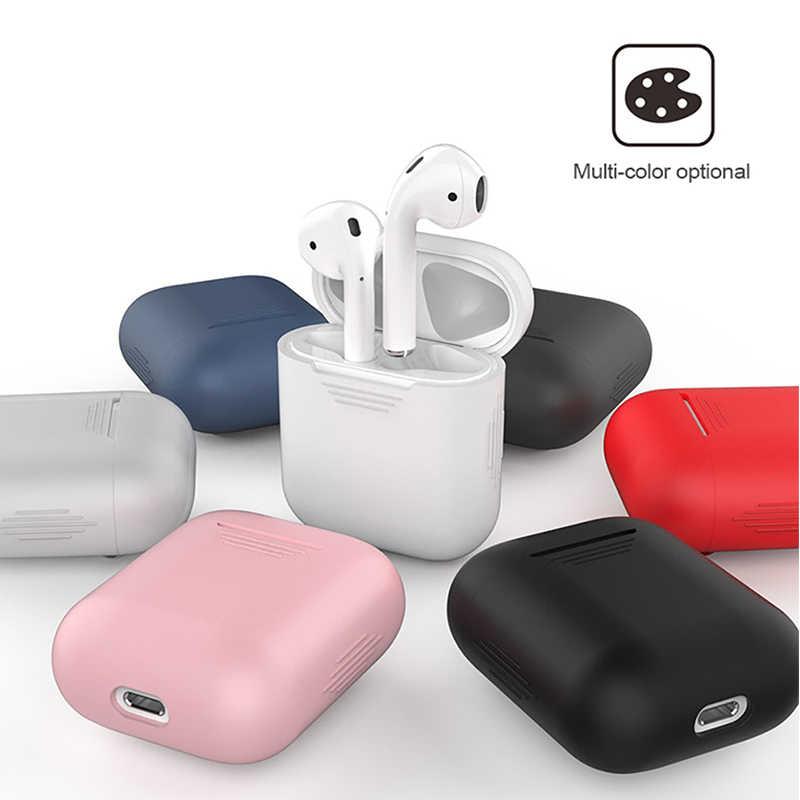 Pour Apple AirPods Écouteurs Cas Accessoires AirPod Cas Couverture De Luxe Pour Airpods Apple Souple En Silicone De Protection Air Gousses Cas