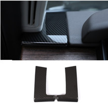 2pcs Carbon Fiber Style ABS Plastic Side Dashbord Decoration Cover Trim For Land Rover Discovery 5 L462 LR5 2017 2018 Car Parts