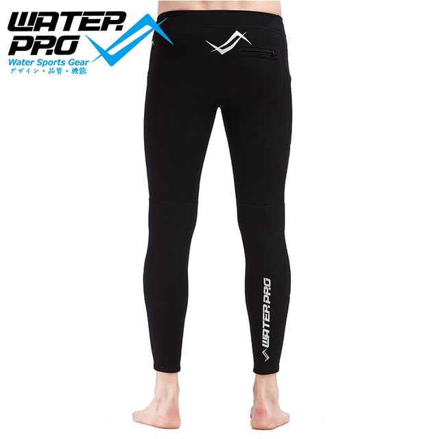 Water Pro 3mm Warm Guard Pants Long Thermo Plush Wetsuit Rash Guard  Unisex UV protection Scuba Diving Snorkeling