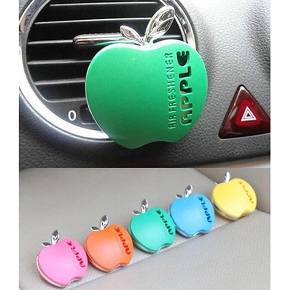 Apple Shape Car Air Freshener Interior Car Air Conditioning Vent Perfume Air Freshener