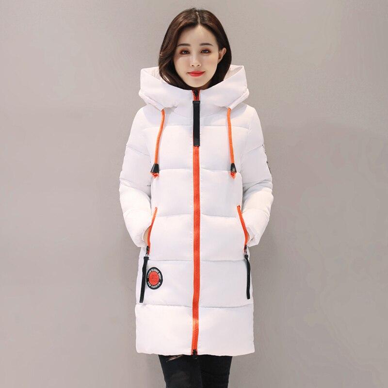 Women Winter Jacket Hooded Warm Thicken Cotton Padded Women Winter Coat Female Outwear Parka Casaco Feminina Inverno
