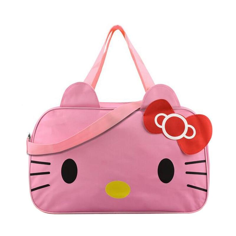 159e31f8b9 Cute Hello Kitty Handbags Ladies Girl s Women s Travel Messenger Bags  Dual-use Organizer Shoulder Accessories Supplies Products