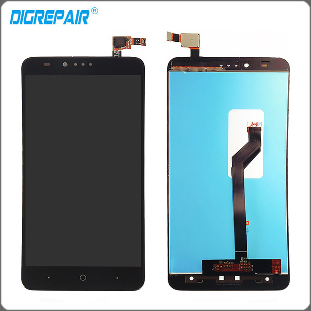 New Black For ZTE Zmax Pro Z981 LCD Display Monitor Panel Touch Screen With Digitizer Front Glass Assembly Parts Accessory