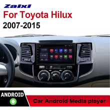 "все цены на ZaiXi 9"" Android Car Multimedia GPS Audio Radio Stereo For Toyota Hilux 2007~2015 Original Style Navigation NAVI BT WIFI онлайн"