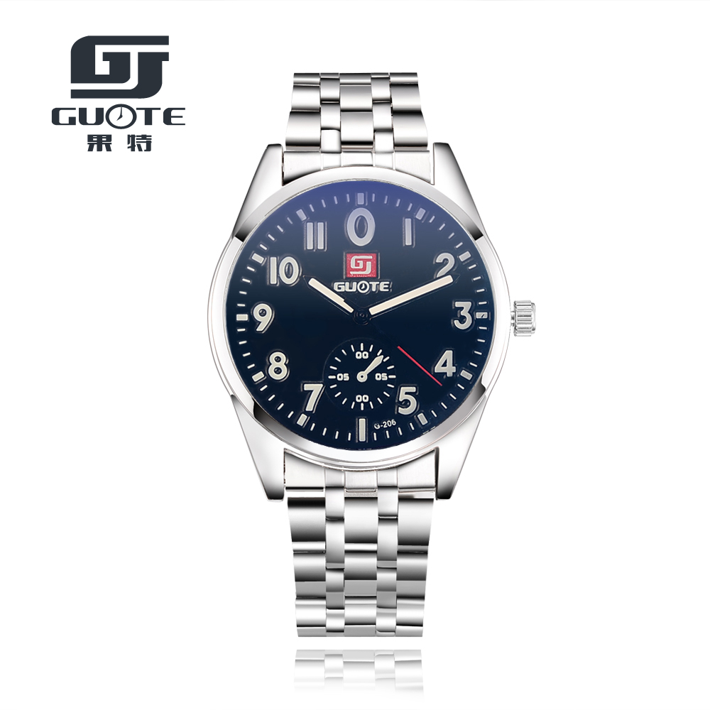 Luxury Brand Military Watches Men Quartz Analog Clock Stainless Steel Clock Man Sports Watches Army Watch