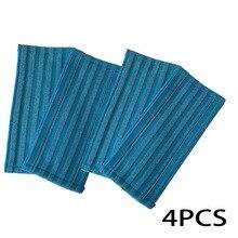 진공 청소기 용 4 팩 걸레 천 필립스 천 powerpro fc6400 fc6401 fc6402 fc6404 fc6405 fc6407 fc6408 fc6409 걸레 패드