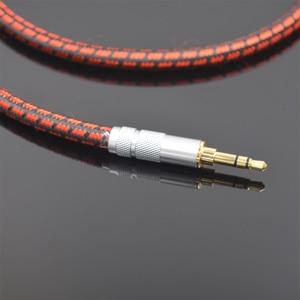 Image 3 - MonsterProlink ستاندرد 100 ستيريو 3.5 مللي متر إلى 2RCA الصوت Y كابل الأحمر ل MP3 CD DVD TV PC السمعية كابل شحن مجاني
