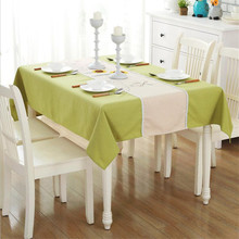 Decorative Linen Tablecloth With Tassel Waterproof Oilproof Thick Rectangular Wedding Dining Table Cover Tea Table Cloth solid green white grey table linen cover table cloth rectangular dining wedding party round tablecloth