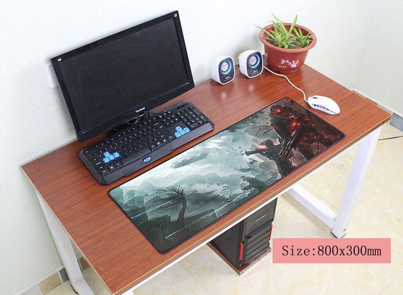 Warface коврик для мыши 800x300x3 мм коврик для мыши компьютер коврик новый игровой padmouse геймер к большой клавиатура коврики для мыши ...