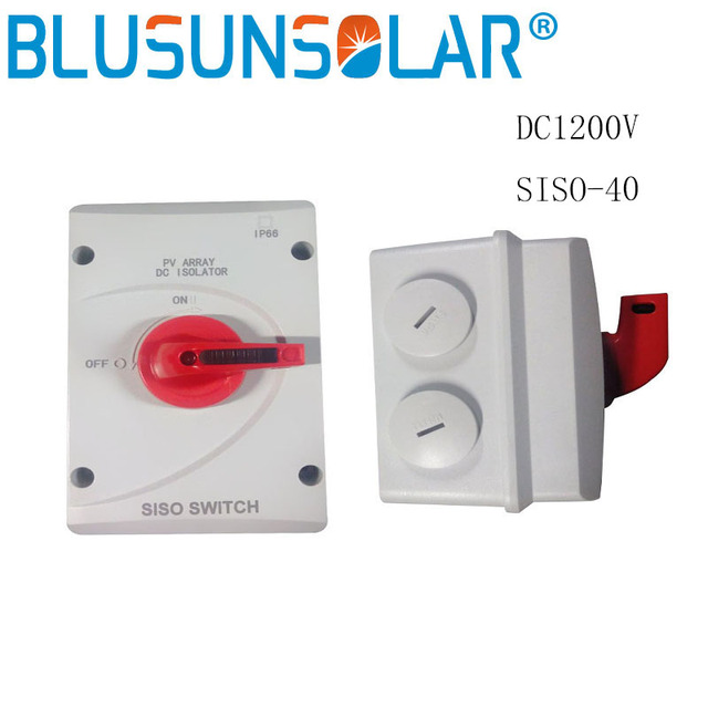 high quality siso 40 4p 32a pv dc type of solar protection isolator rh aliexpress com
